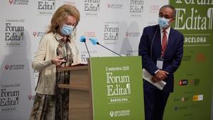 El ministre de Cultura es compromet a impulsar un pacte d'Estat pel Llibre al Forum Edita