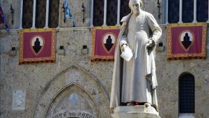 Sede del banco Monte dei Paschi diSiena.