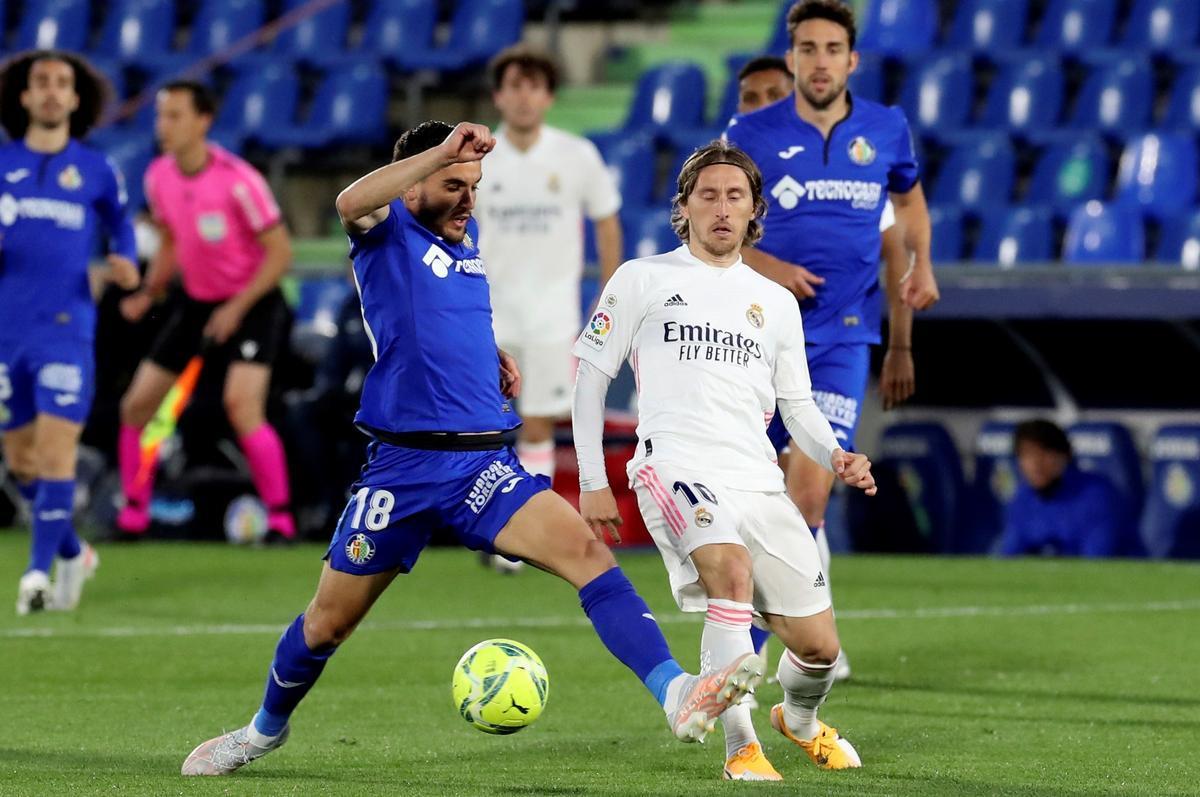 Un Madrid de circumstàncies es deixa dos punts a Getafe