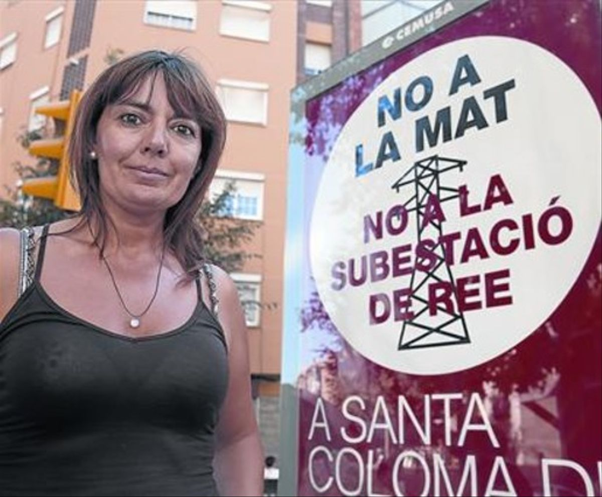 Loli Andrades: «Ese gigante por Santa Coloma no va a pasar»