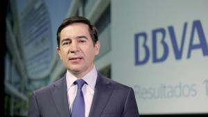 El BBVA registró un beneficio neto de 1.340 millones de euros en el primer trimestre de 2018.