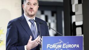 Carlos Iturgaiz, candidato de la coalición del PP+Cs a las elecciones vascas.
