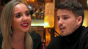 Carlota y Carlos en 'First Dates'.