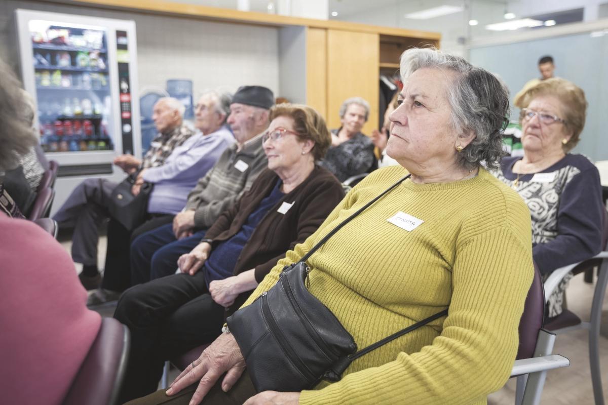 Actividad para la gente mayor de Parets