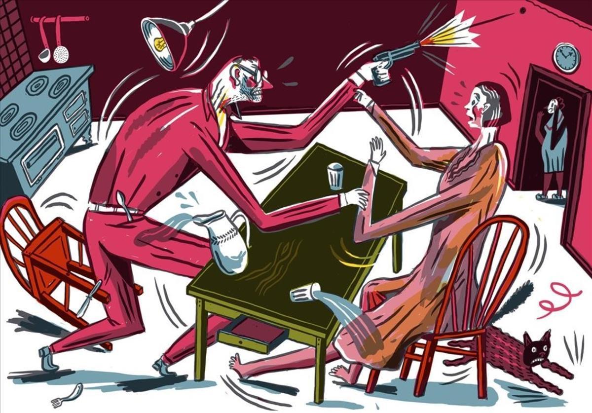 Página del cómic 'Fallada', de Jakob Hinrichs.