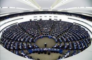 Sesión plenaria delParlamento Europeo.