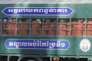 Un macrojudici seu al banc dels acusats més de 150 opositors a Cambodja