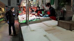Les peixateries de Girona, al límit pel tancament de llotges