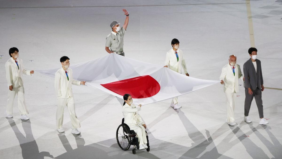 Ceremonia de inauguración de los Juegos Paralímpicos  Tokyo 2020