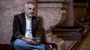 Entrevista al candidato de Ciutadans a la Presidència de la Generalitat, Carlos Carrizosa