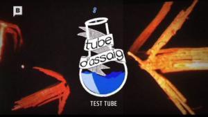 Imagen de presentación de 'Tube d'assaig',programa de la tele municipal Barcelona TV