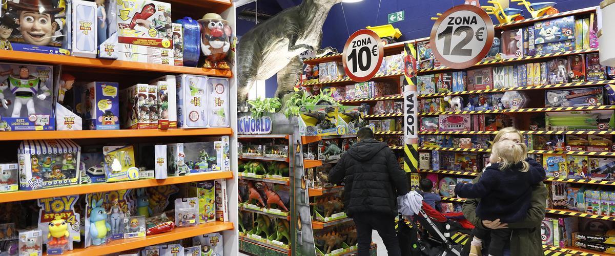 Una tienda de juguetes, en la pasada campaña navideña.