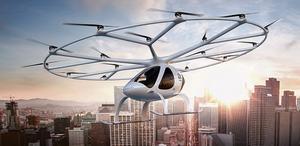 El innovador Volocopter se exhibirá en la próxima edición deSmart City Expo World Congress.EndFragment