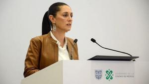 Claudia Sheinbaum,jefa de Gobierno de la Ciudad de México.