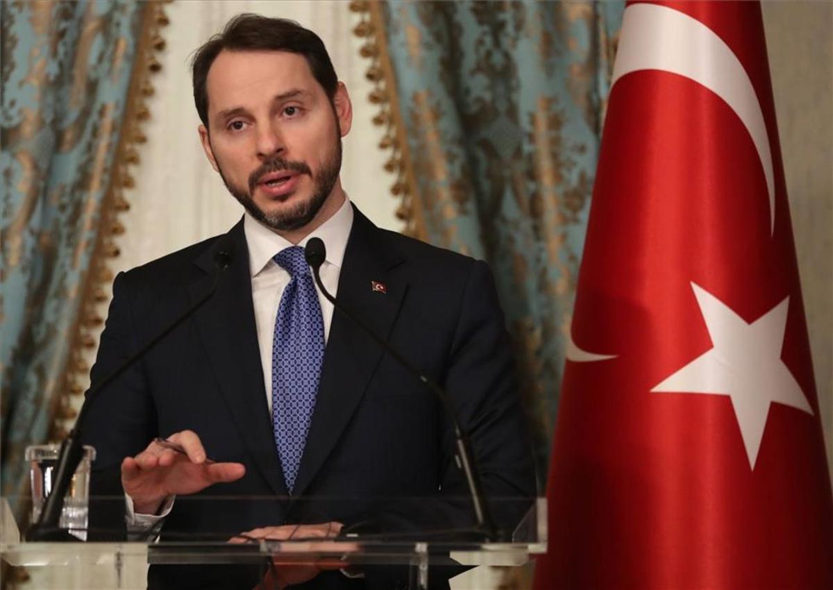Berat Albayrak, exministro de finanzas de Turquía.