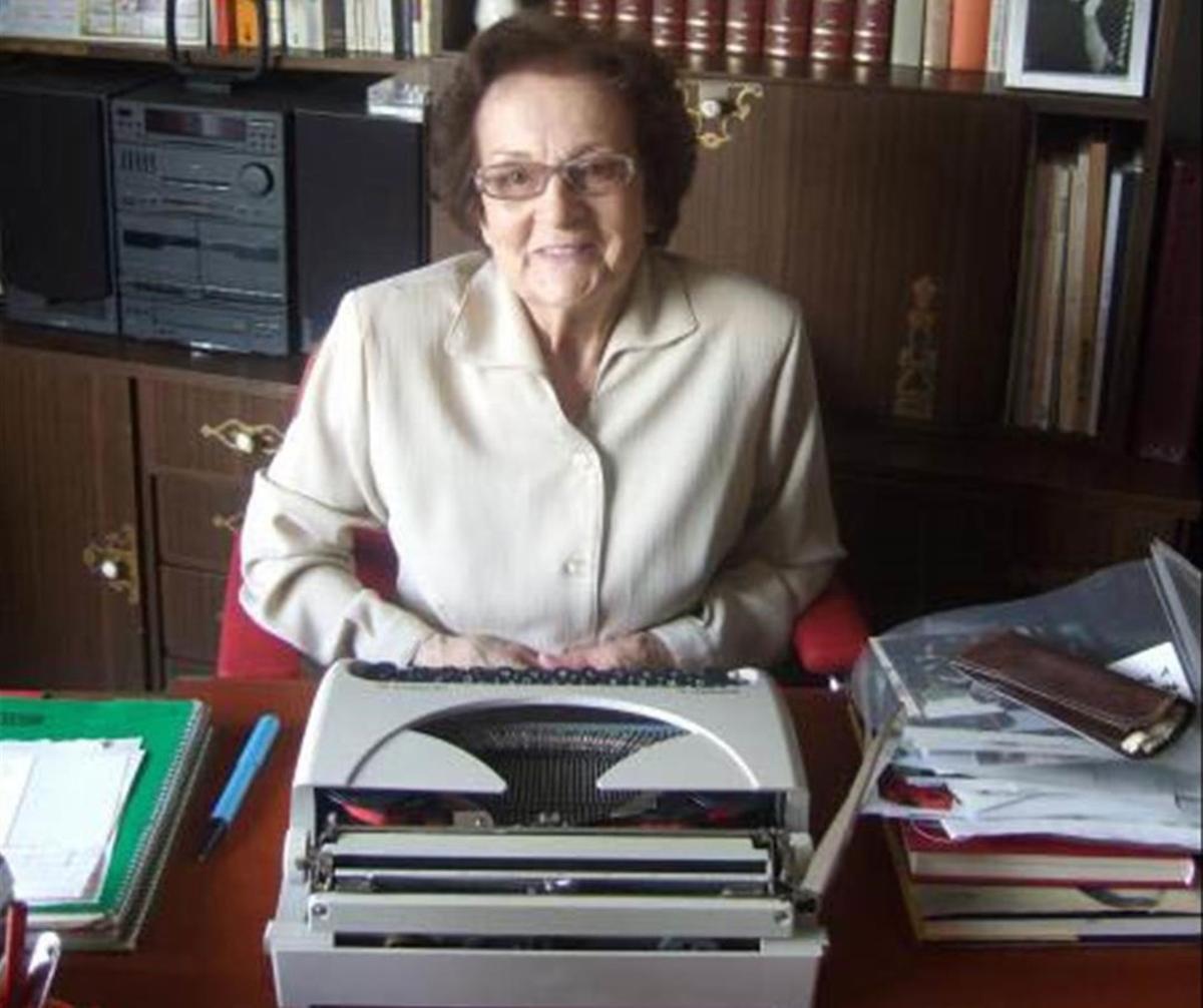 Retrato de Joaquina Dorado hecho en el 2008 en su casa de Barcelona.