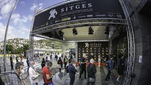 El ambiente hasta hace muy poco en el festival de Sitges.// JOAN CORTADELLAS