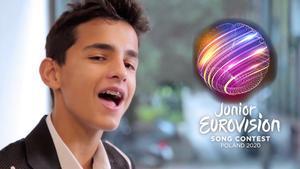 Petar Anicic, representante de Serbia en Eurovisión Junior 2020, versionando en español 'Heratbeat'.