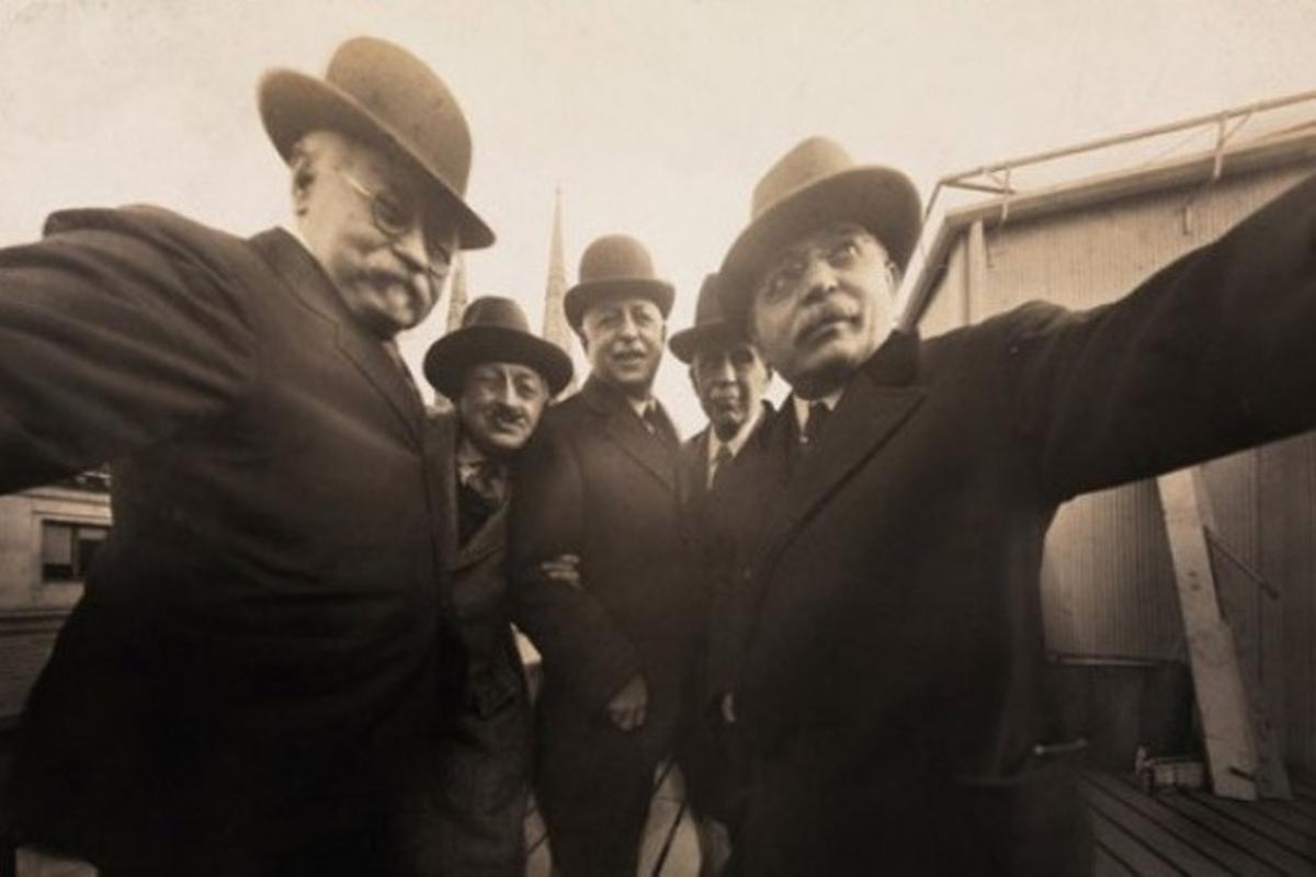 La primera 'selfie' de la historia fue tomada en 1920 en Nueva York.
