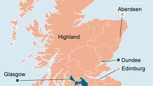 Els resultats del referèndum d'Escòcia, circumscripció a circumscripció