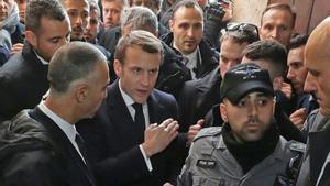 La mateixa bronca de Macron amb la policia israeliana que Chirac va protagonitzar fa 23 anys