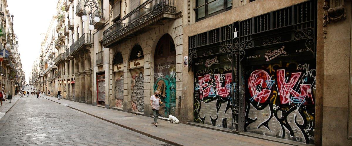 El río Congo divide Barcelona