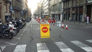 El Día sin Coches logra un 4% menos de coches en Barcelona