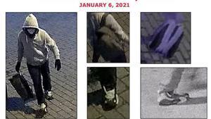 El FBI busca un sospechoso con unas raras Nike.