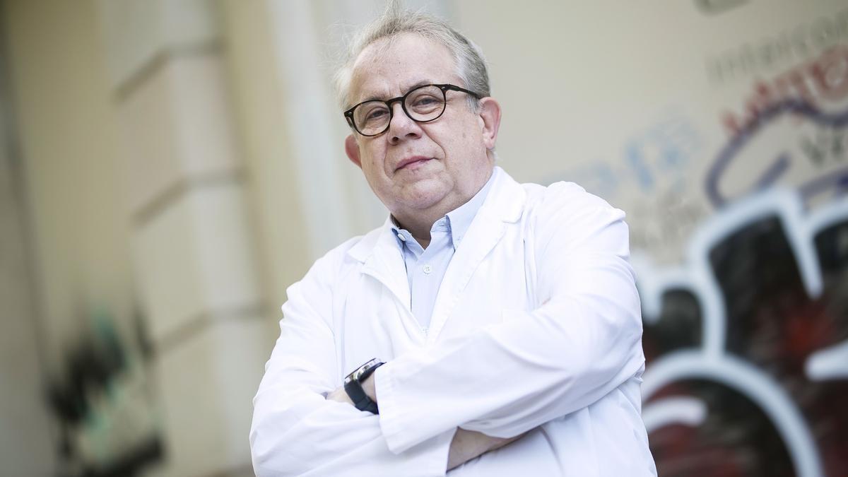 El presidente del COMB, Jaume Padrós, el miércoles pasado en Barcelona.