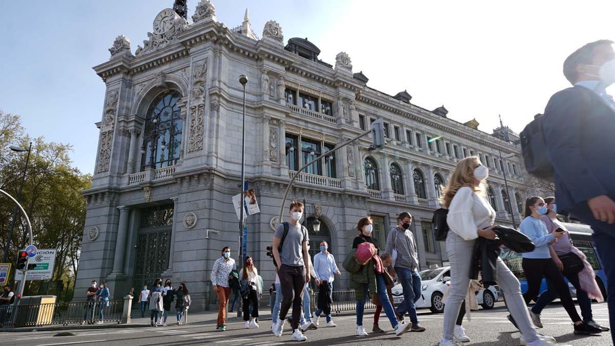 Edificio del Banco de España en Madrid