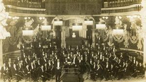 La Orquesta Pau Casals en 1927, en una imagen de archivo.