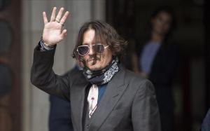Johnny Depp a su llegada al Tribunal de Londres, el pasado mes de julio.