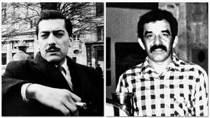Mario Vargas Llosa y Gabriel García Márquez.