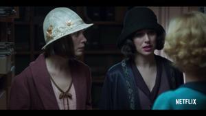 Una imagen de la primera producción española de Netflix, 'Las chicas del cable'.