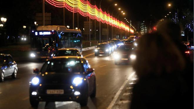 Madrid enciende sus luces de Navidad