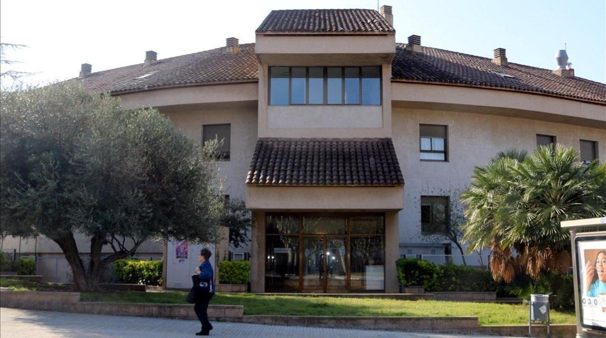 Residencia geriátrica Santa Oliva, en Olesa de Montserrat.