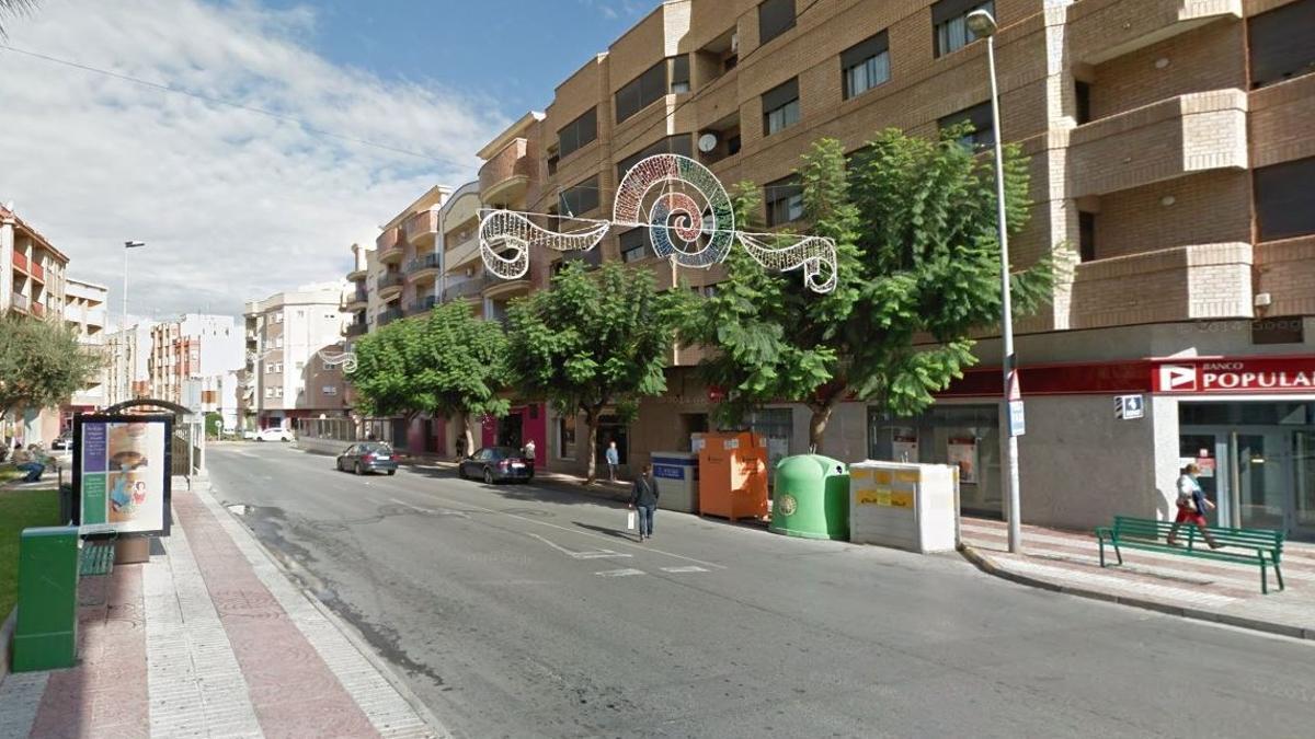 Avenida de Montendre de la localidad castellonense de Onda.