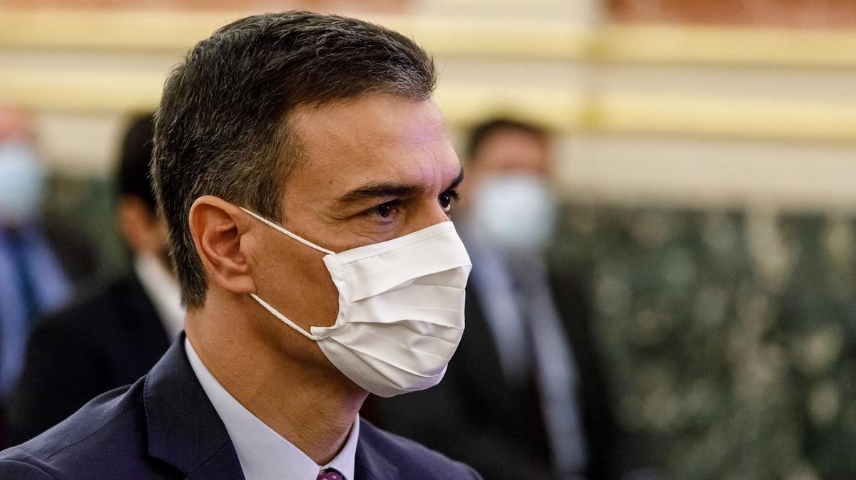 Publicada la pròrroga de l'estat d'alarma fins al 9 de maig amb la compareixença de Sánchez cada dos mesos