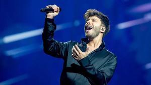 Este ha sido el mensaje de Blas Cantó tras su paso por 'Eurovisión'