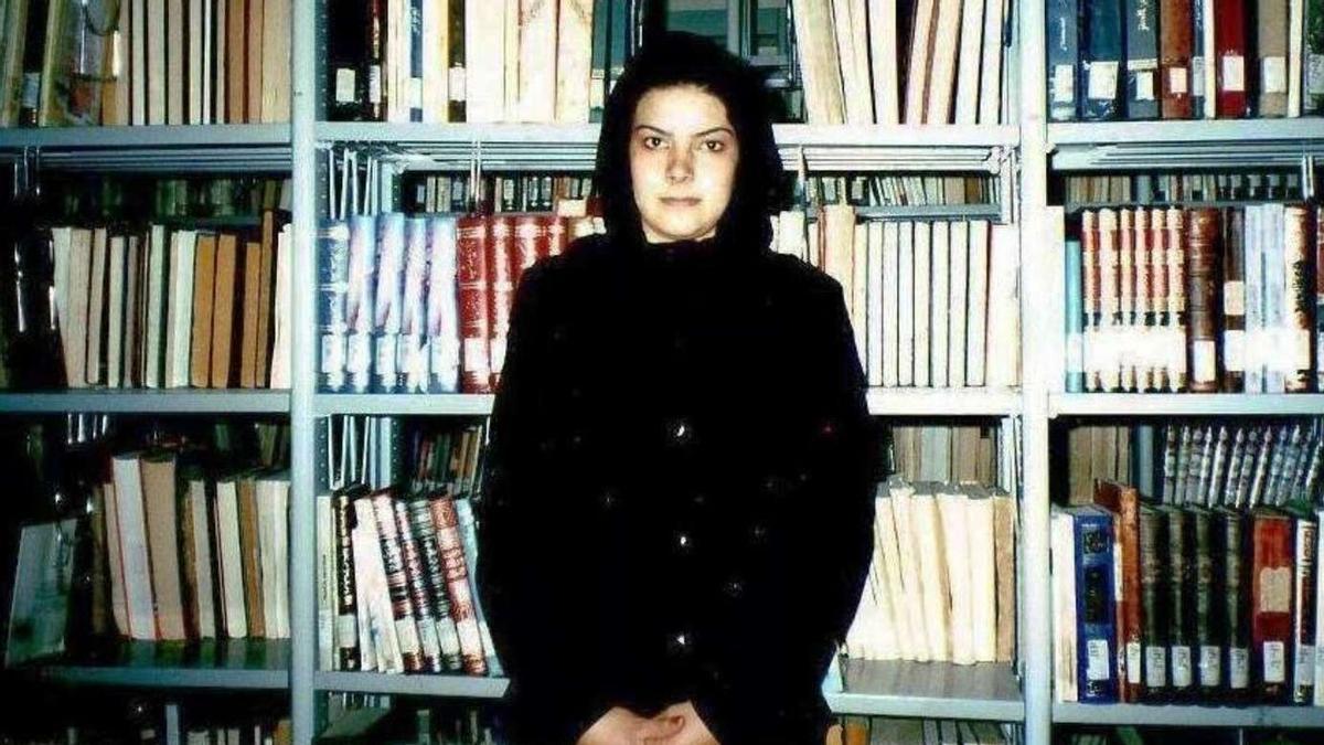 La poeta afgana Nadia Anjuman.