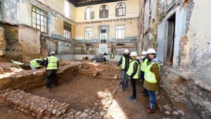 Es troben restes romanes durant les obres de rehabilitació del Casino de Rubí