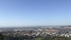 Contaminación en el área metropolitana de Barcelona.