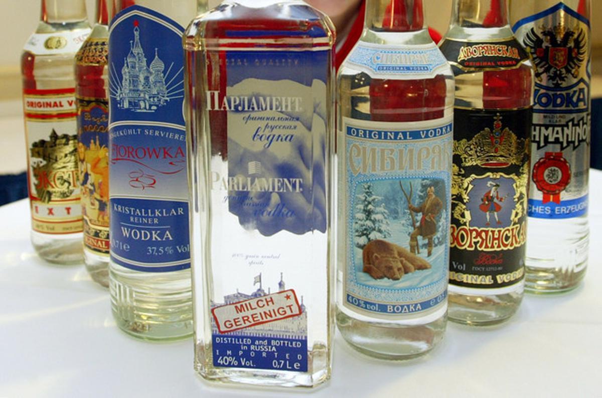 Cae de forma espectacular el consumo de alcohol en Rusia