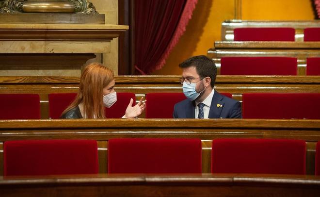 Los comuns ven difícil ceder votos para aprobar los presupuestos catalanes