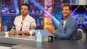 David Bisbal y Luis Fonsi en 'El Hormiguero'