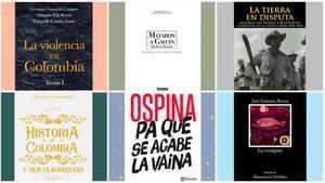 Algunos de los libros seleccionados.