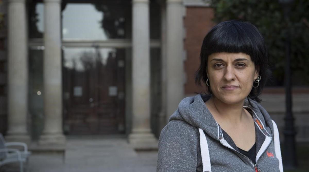 Anna Gabriel, en una imagen del pasado enero.