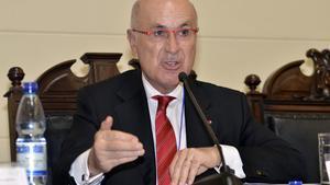 Josep Antoni Duran Lleida, durante una conferencia en Chile, la semana pasada.
