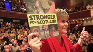 Sturgeon fa de la lluita contra les retallades l'objectiu central del seu programa