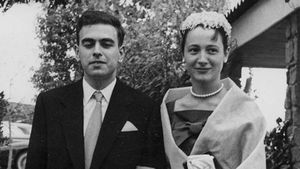 Pujol yFerrusola, en su juventud.